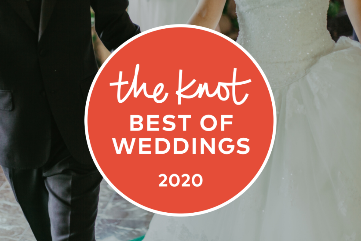 We Won! The Knot Best of Weddings 2020 Image
