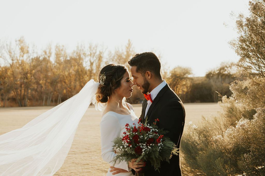 Holiday Styled Shoot | Winter Wedding Image