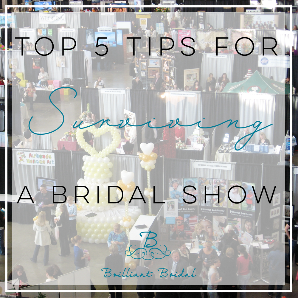 The Top 5 Bridal Show Tips for Brides. Mobile Image