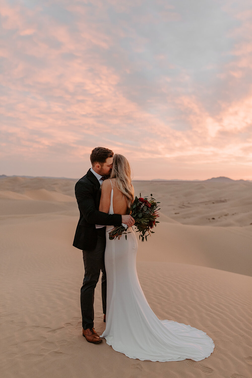 Our Brilliant Bride Riley | Imperial Sand Dunes. Mobile Image