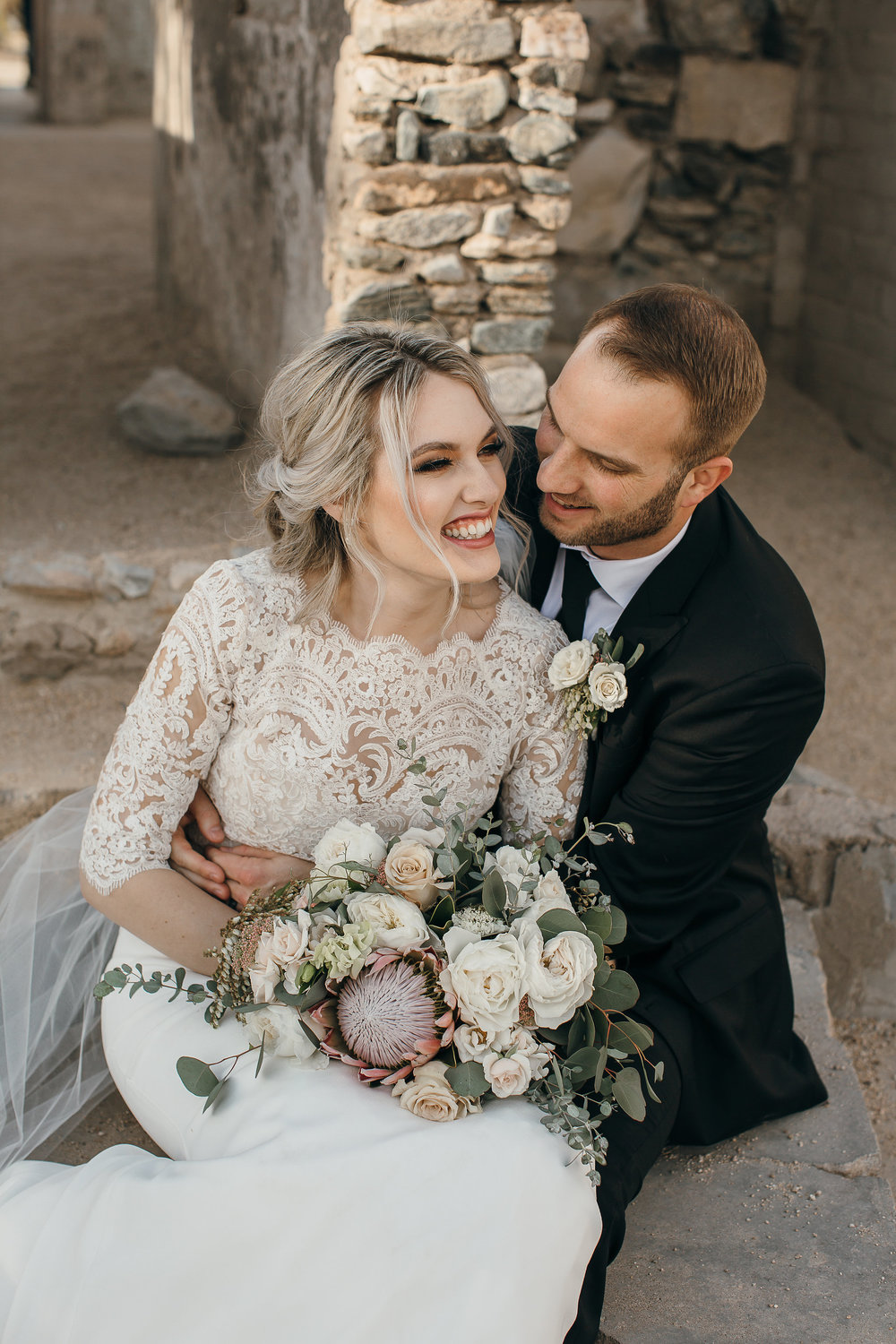 Our Brilliant Bride Alexis | South Mountain Wedding. Mobile Image