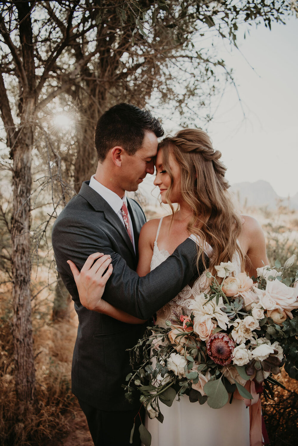 Bohemian Desert Elopement | Styled Shoot
