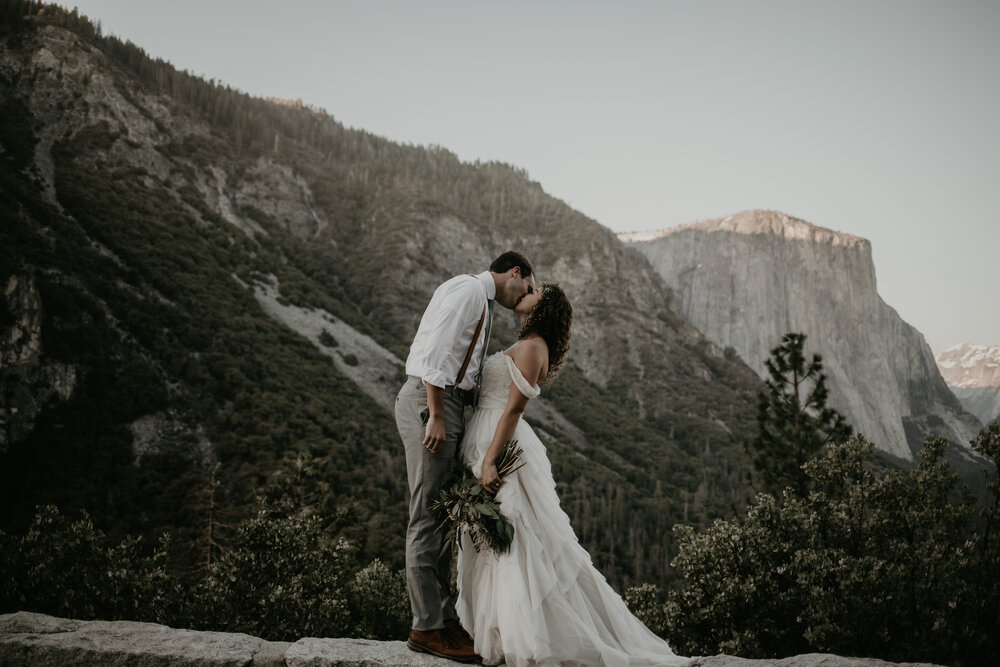 Our Brilliant Bride Ashlynn | Yosemite National Park . Desktop Image