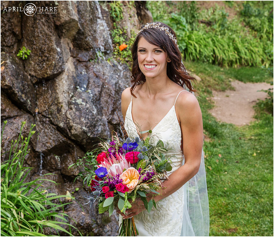 Our Brilliant Bride Alyssa | Boulder Mountain Wedding. Desktop Image