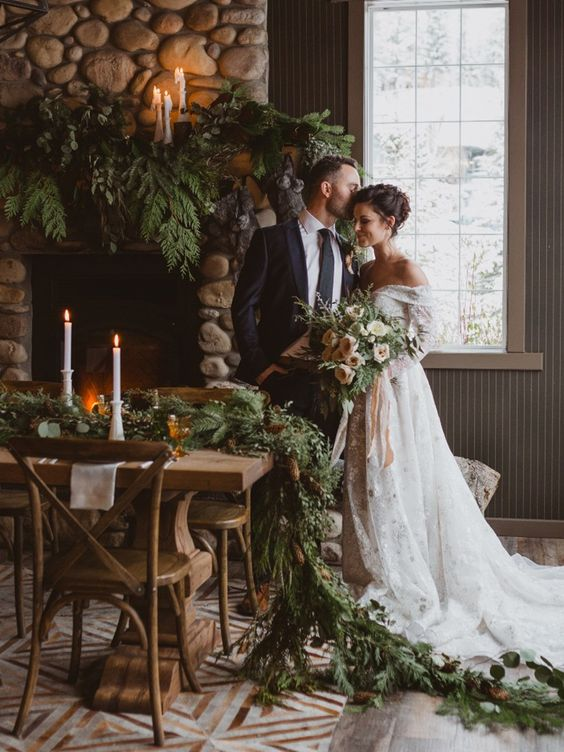 Top 2020 Winter Wedding Trends Image