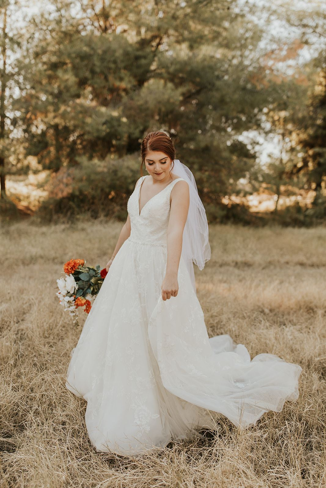 Our Brilliant Bride Kate | Rustic Charm Fall Wedding. Desktop Image